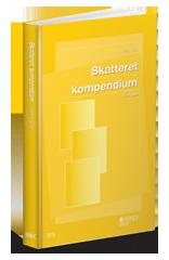 Omslag til Skatteret kompendium, 6. udgave