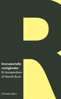 Immaterialret kompendium, 1. udgave